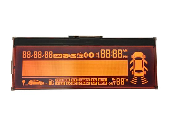 SDG LCD Module for Automative media player