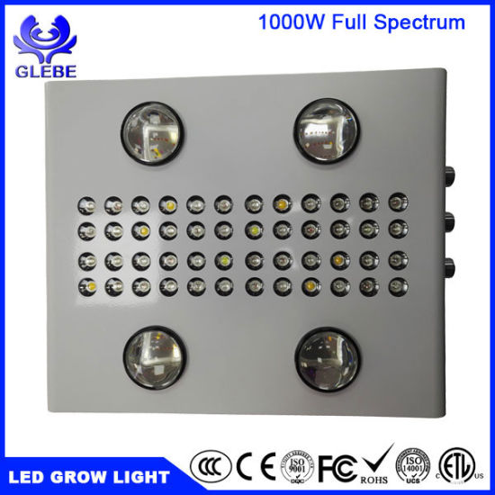 1000W High Power COB LED Grow Light Hydroponics Vegetables Full Spectrum Plant Grow Light pictures & photos