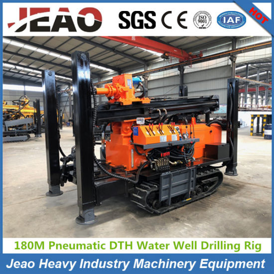 180m Depth Crawler Water Well Drilling Machine for Sale pictures & photos