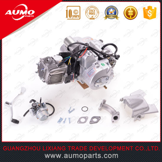 110cc engine assy for atv 1 forward and 1 reverse gear 152fmh engine parts  pictures &