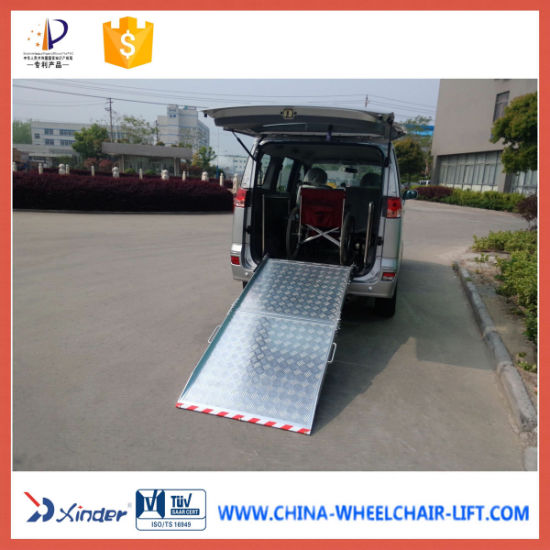 Wheelchair Aluminum Loading Ramp Loading 350kg pictures & photos