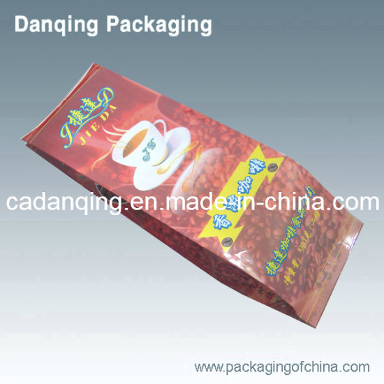 Danqing Packaging Coffee Bean Bag with Zipper Top Y0100 pictures & photos