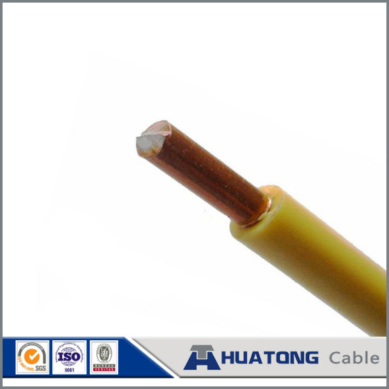 450v / 750v pvc insulated wire green yellow ground wire electrical wiring  in home