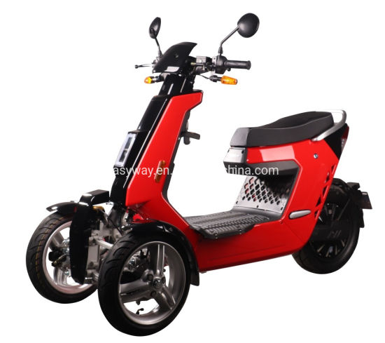 EEC Approved Front Balanced Three Wheel Scooter with Fashionable Look