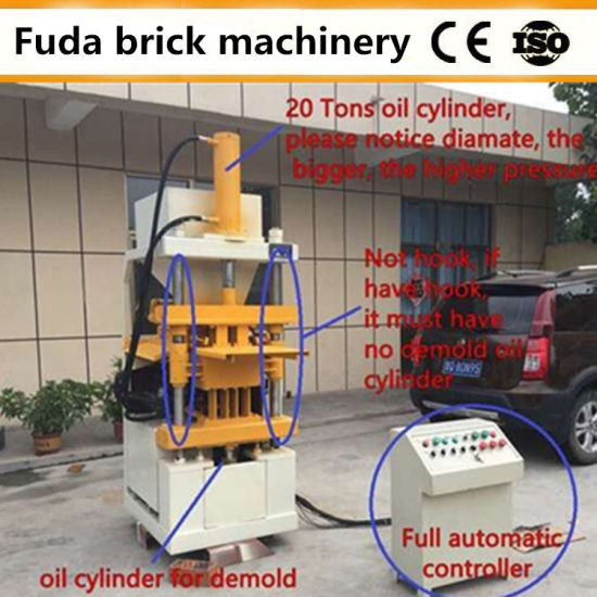 Automatic Interlock Soil Clay Brick Making Machine South Africa pictures & photos