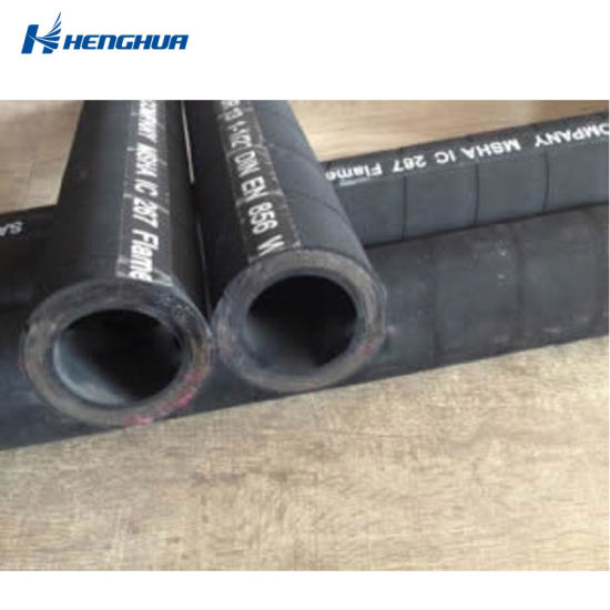 SAE 100 R13 Industrial High Pressure Steel Wire Spiraled Hydraulic Rubber Hose with Higher Working Pressure