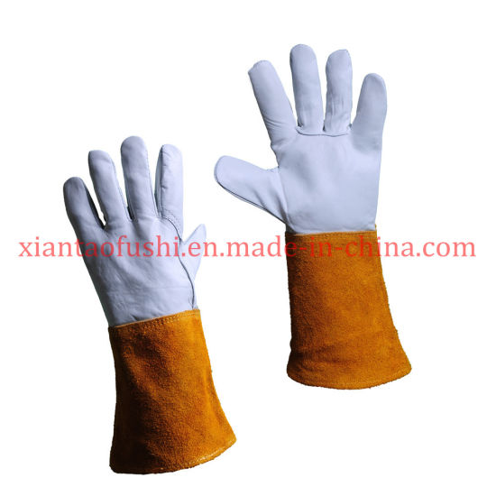Polyester Nylon String Safety Working Gloves Industrial Protection