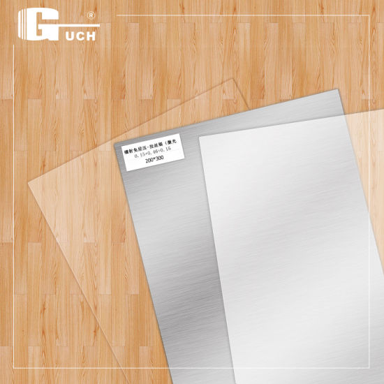 Instant PVC Card/Card Material 200*300mm 0.76mm Thickness (0.15+0.46+0.15)