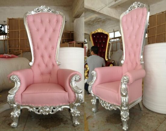 China Luxury King Chair Set Rental Royal Event Use - China Classic ...
