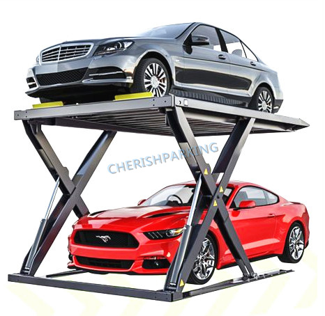 Lifting Height 2000mm Scissor Parking Lift with Ce & ISO9001