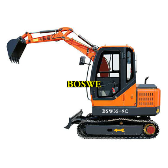 Made in China Mini Digger Machine Crawler Excavator