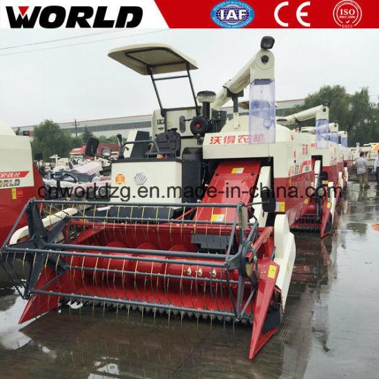 China 4lz-4 0e Mini Wheat Harvester Machine Philippines for