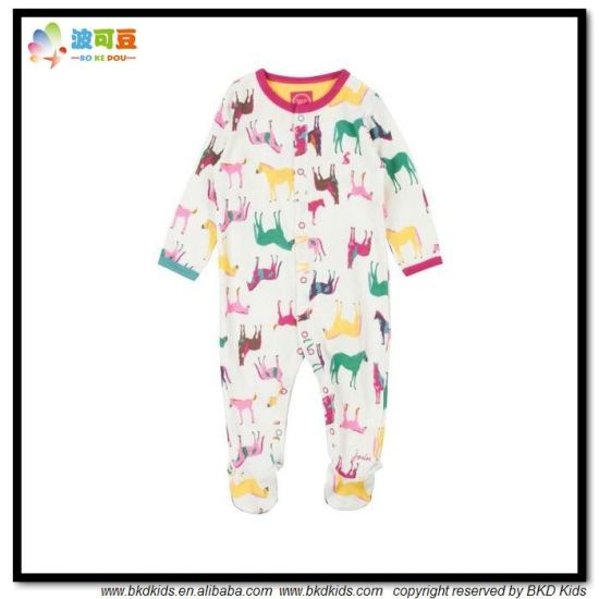 Animal Printing Baby Garment Autumn Winter Babies Jumpsuit