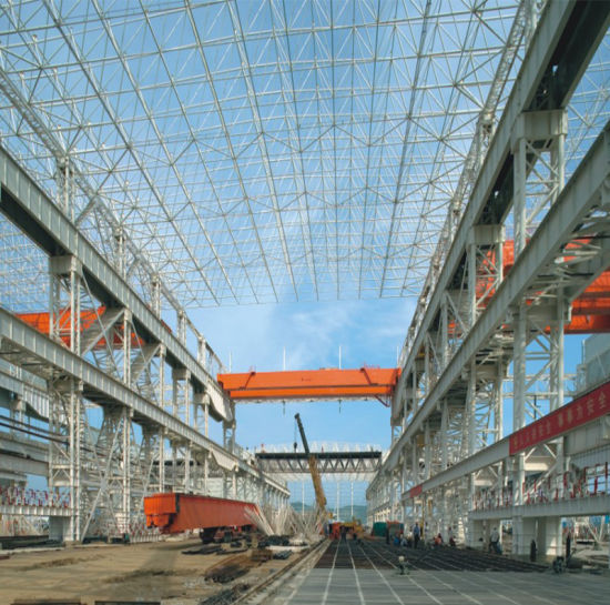 Light Metal Building Steel Frame Construction Factory Building pictures & photos