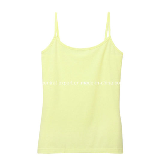 Sexyl Plain Lady Tank Top Woman Tank Top Camisoles pictures & photos