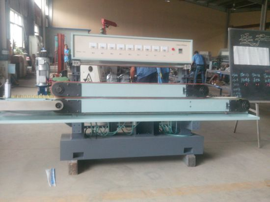 Horizontal Glass Slide Edging Processing Machinery with 8 Spindles