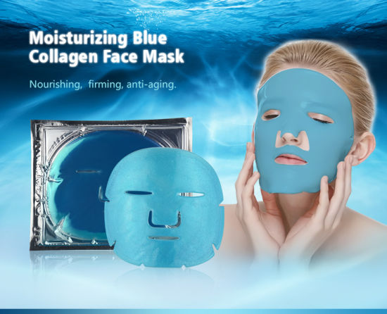 Crystal Collagen Ocean Blue Facial Mask