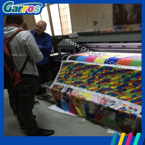 New Industrial Direct Cotton Fabric Rolls Printer Garros Digital Conveyor Type Textile Printer with High Speed pictures & photos