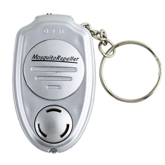 Mini Travel Insect Repellent Keychain Mosquito Pest Control Ultrasonic Repeller
