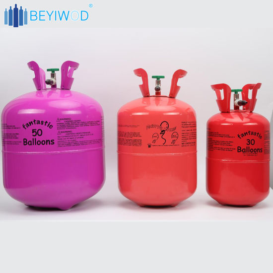 Balloon Helium Gas Disposable Cylinder Birthday Party 50 Balloons