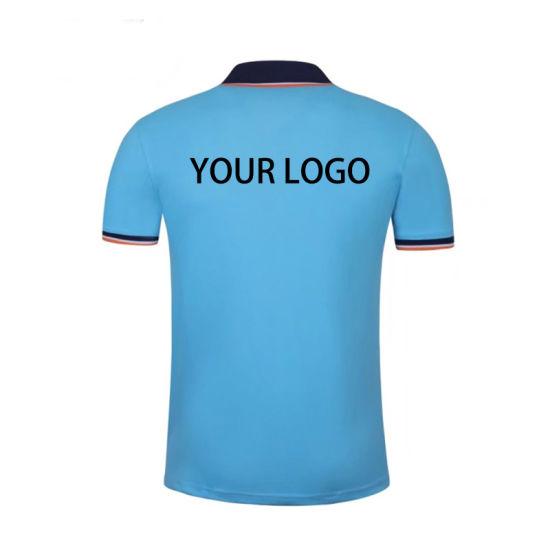 96f1478d Custom T-Shirt Printing Promotional T Shirts with Logo Brand Embroidery  Designs Polo Shirts China Wholesa Shirts