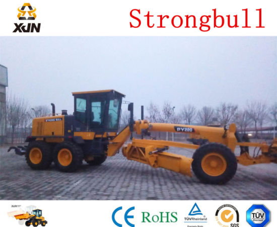 Best Quality Road Grader (PY200) with Zf Gearbox pictures & photos