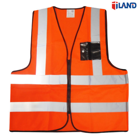 Safety Clothing Workplace Safety Supplies Safety Vest Mesh Vest Traffic Fluorescent Breathable Adjustable Pvc Tape