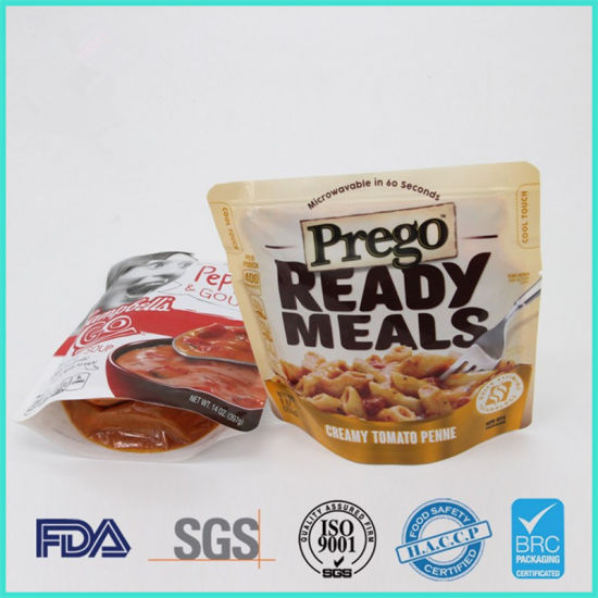 Food Grade Custom Printed Retort Bag for Soup and Sauce Packaging pictures & photos
