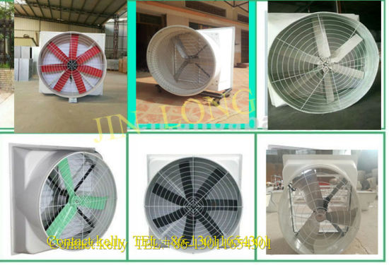 Ventilation Fibergladss FRP Cone 1460mm Exhaust Fan for Poultry / Greenhouse / Warehouse pictures & photos