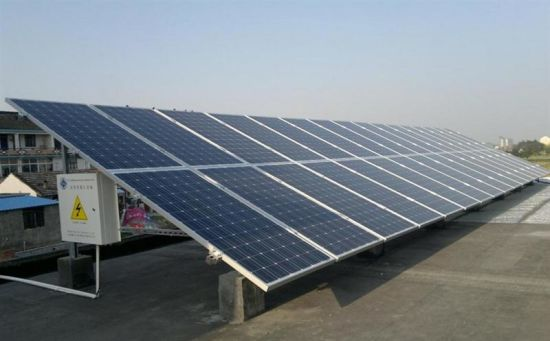 6kw Price for Solar Panel System 10kw Solar Power Systems pictures & photos