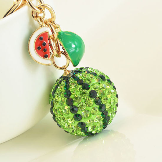 OEM New Watermelon-Shaped Fancy Keychains pictures & photos