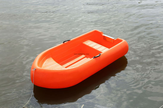 China 2 3m Small 2 Persons Cheap Pe Plastic Boat For