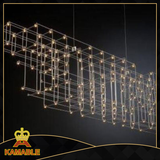 Modern Style Stainless Steel LED Hanging Lamps (KA8265) pictures & photos