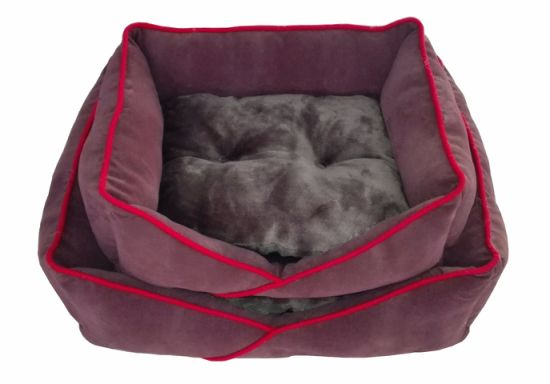 Soft Flannel Beds for Dogs and Cats (WY161048A/B) pictures & photos