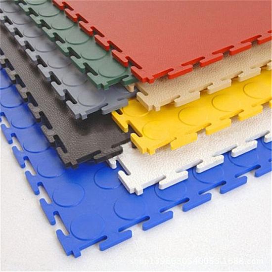 China Block Tile Garage Flooring