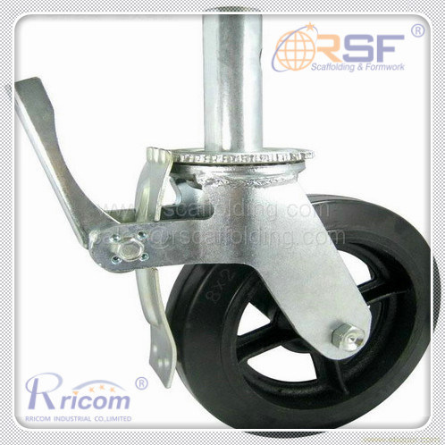 Scaffold Castors/Wheels with Brake for The Ringlock and Cuplock Scaffold Use pictures & photos