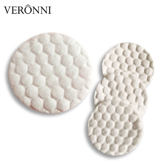 60PCS/Bag Round Cosmetic Makeup Organic Cotton Pads 100% Pure Cotton Soft Skin Care Lint Free Remover Pads Wholesale pictures & photos