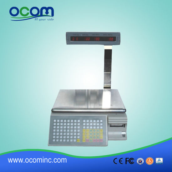 China TM-AA-5D Barcode Label Printing Weighing Scales