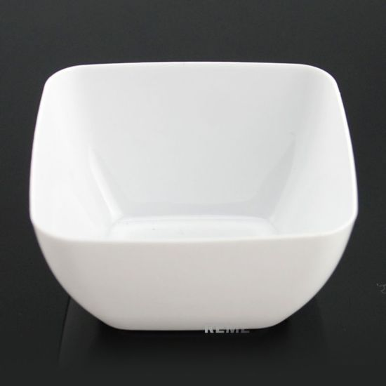 Plastic Bowl Disposable Bowl Rounded Square Bowl pictures & photos