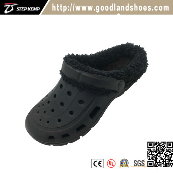 Garden Men Outdoor Casual EVA Clog Black Shoes 20284b