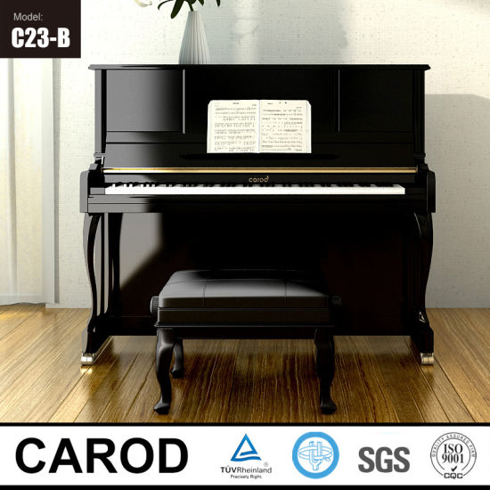 Three Colors Upright Piano pictures & photos