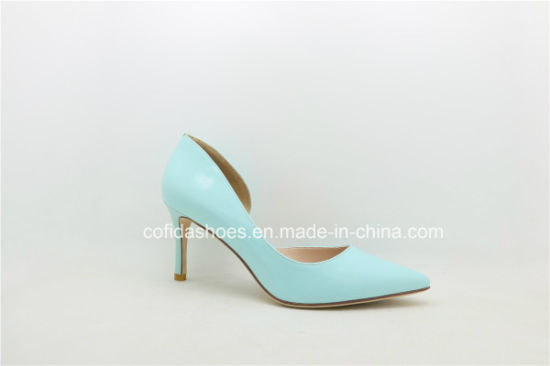 Updated Hand-Made Sexy Patent Leather Lady Shoe pictures & photos