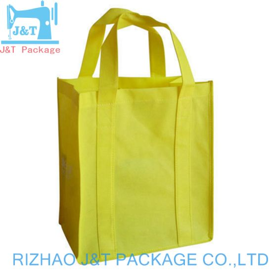 Promotional Cheap Customized Fold-Able Laminated Eco Fabric Tote Non-Woven  Shopping Bag b3a98a9180912