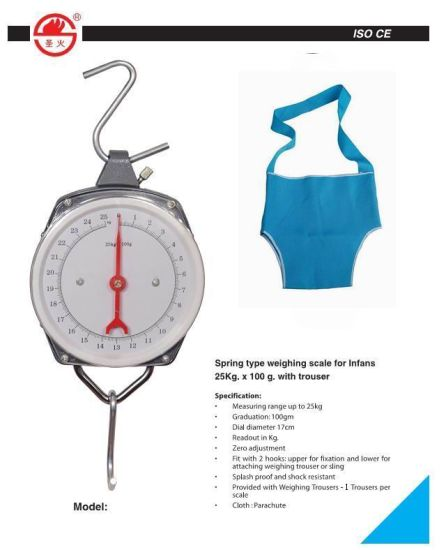 25kg Mechanical Baby Hanging Scale