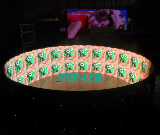 China Full Color 360 Degree Curved LED Display of Indoor P6