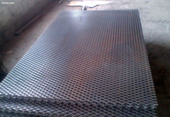 Diamond Expanded Metal Mesh 1.5mm - 2.0mm Thick Anping Factory