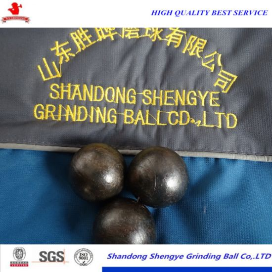Hot Rolling Forged Grinding Ball for Low Abrasion pictures & photos