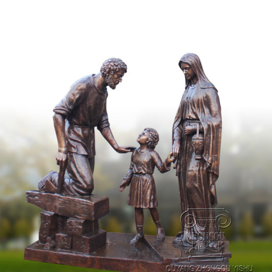 china bronze casting statue of the holy family china holy family