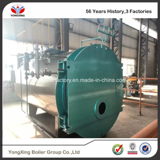 China ASME Certificate Industrial Oil and Gas Fired Steam Boiler 20t ...