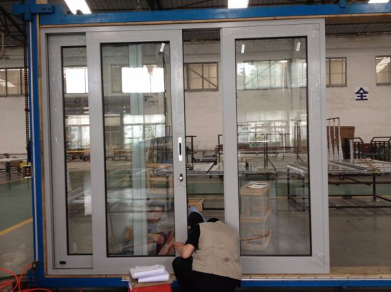 Heavy Duty High Quality Customized Aluminum Sliding Door pictures & photos